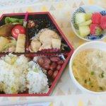ココロガーデン💕新緑のお弁当🌱🍴
