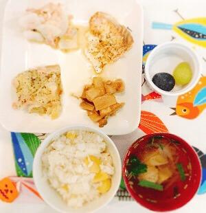 栄養士の手作り昼食