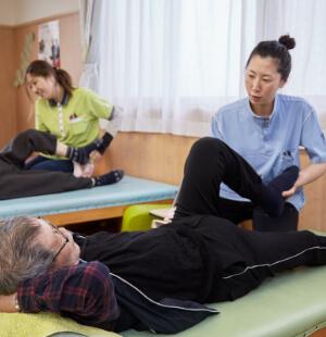 理学療法士、作業療法士による個別機能訓練
